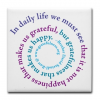 Quote of the Day:  Who are You Grateful For?